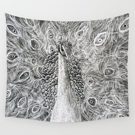 Plume of a Kind Wall Tapestry