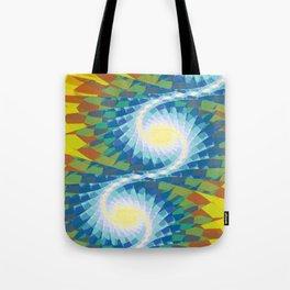 Fractal Earth Bound Design Tote Bag