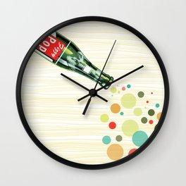 Fizzy Pop Wall Clock