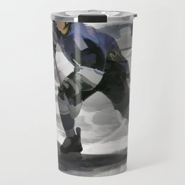 Let's Go! - Ice Hockey Player Travel Mug