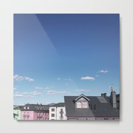 Candy rooftops Metal Print