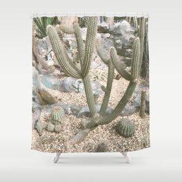 Cacti II Shower Curtain