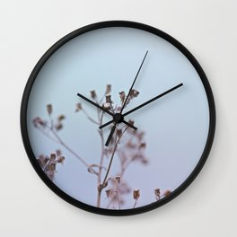 Looking at the river Wall Clock