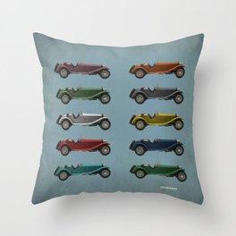 Five Alfa's Throw Pillow