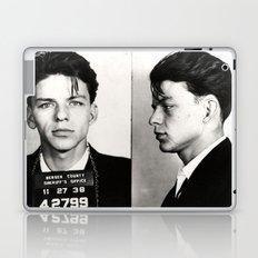 Frank Sinatra Mug Shot  Laptop & iPad Skin