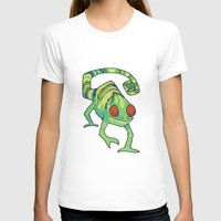 chameleon T-shirts featuring Chameleon by Suzanne Annaars