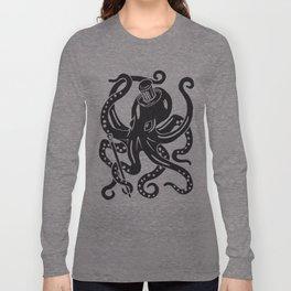 Bertee The Dancing Octopus Long Sleeve T-shirt