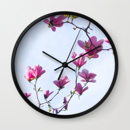 Inflorescence Wall Clock