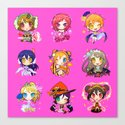 love live URs  by bunsonwings