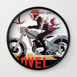 Socovel La Moto Wall Clock