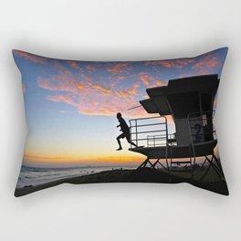 Tower 2 Lifeguard  Rectangular Pillow