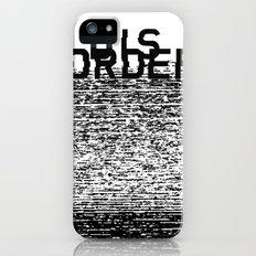 Dis-order Slim Case iPhone (5, 5s)