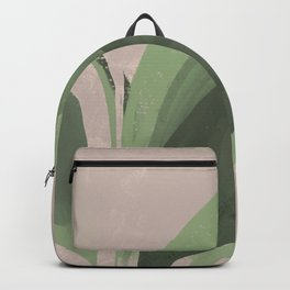 Plant On Pastel Backpack