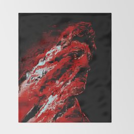 David Suffers Throw Blanket