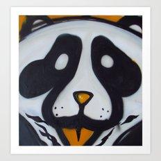 Pandas and Polaroids Art Print