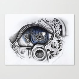 Mechanical Eye Canvas Print
