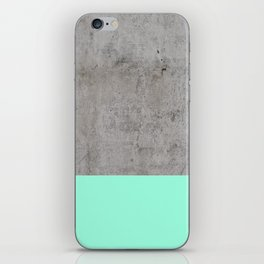 Sea on Concrete iPhone Skin