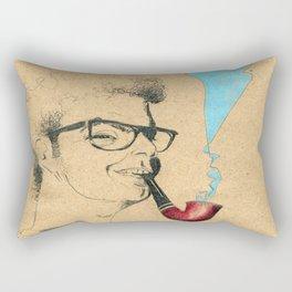 Musician Guitar and pipe Rectangular Pillow