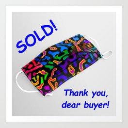 BLOGPOST - not for sale ... Art Print