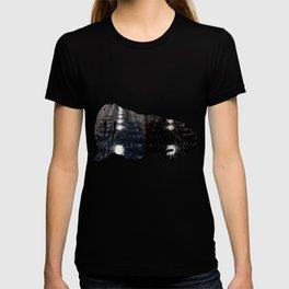 Darker Still - Fountain in Midnight and Black T-shirt