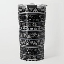 Bohemian Mud cloth Travel Mug