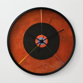 Hilma Af Klint - The Swan Wall Clock