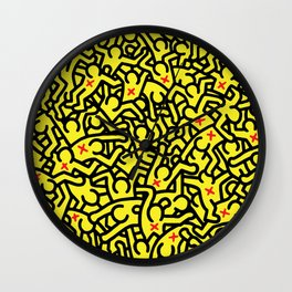 Keith Haring Variation #31 Wall Clock