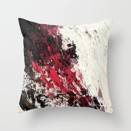 The Blackening (Alchemy; phase one) Throw Pillow