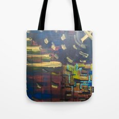 Landscape/Towers Tote Bag