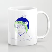 dmmd Mugs featuring noiz by jean-huh-kirschnickerdoodle