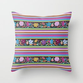 Peruvian Blanket Throw Pillow