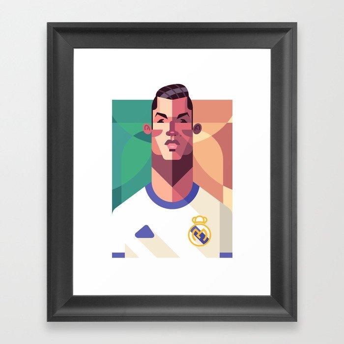 CR7 | Los Merengues Framed Art Print