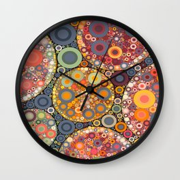 Citrus Fantasy Wall Clock
