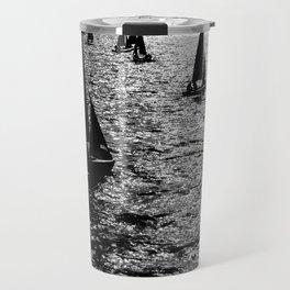 Sailing Silhouettes Travel Mug