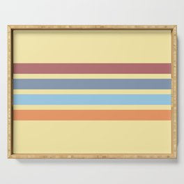 Bright Timeless Stripes Britus Serving Tray