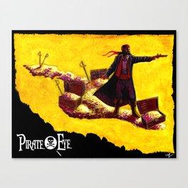 Pirate Eye: Isle of Gold Canvas Print