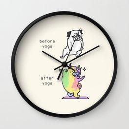 AFTER YOGA Wall Clock
