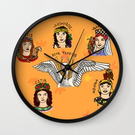 Gods Wall Clock