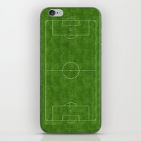 soccer iPhone & iPod Skins featuring Soccer by Dino cogito