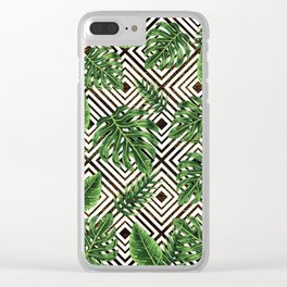 Tropical VII Clear iPhone Case