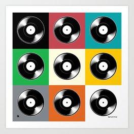 Now Spinning Pop Art Print