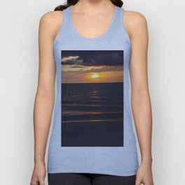 Sunset On Clearwater Beach, FL Unisex Tank Top