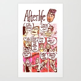 AFTERLIFE Art Print