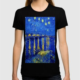 Starry Night Over Rhone T-shirt