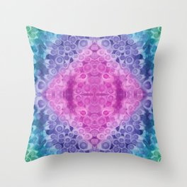 Dotted Aurora Throw Pillow