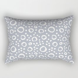 circles (12) Rectangular Pillow
