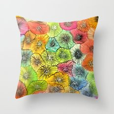 anémonea Throw Pillow