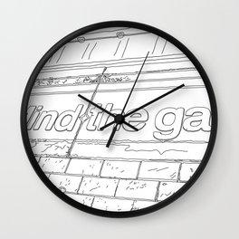 Mind the Gap - Line Art Wall Clock