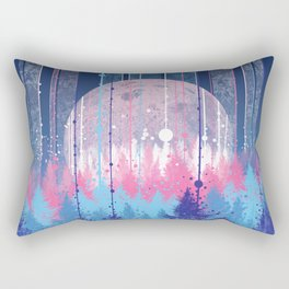 Rainy forest Rectangular Pillow