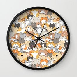 Cats, Kitties and a Spy Wall Clock